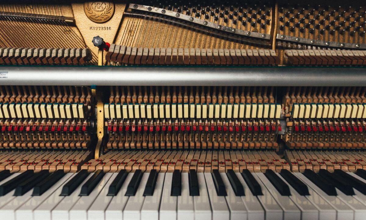 budowa fortepianu
